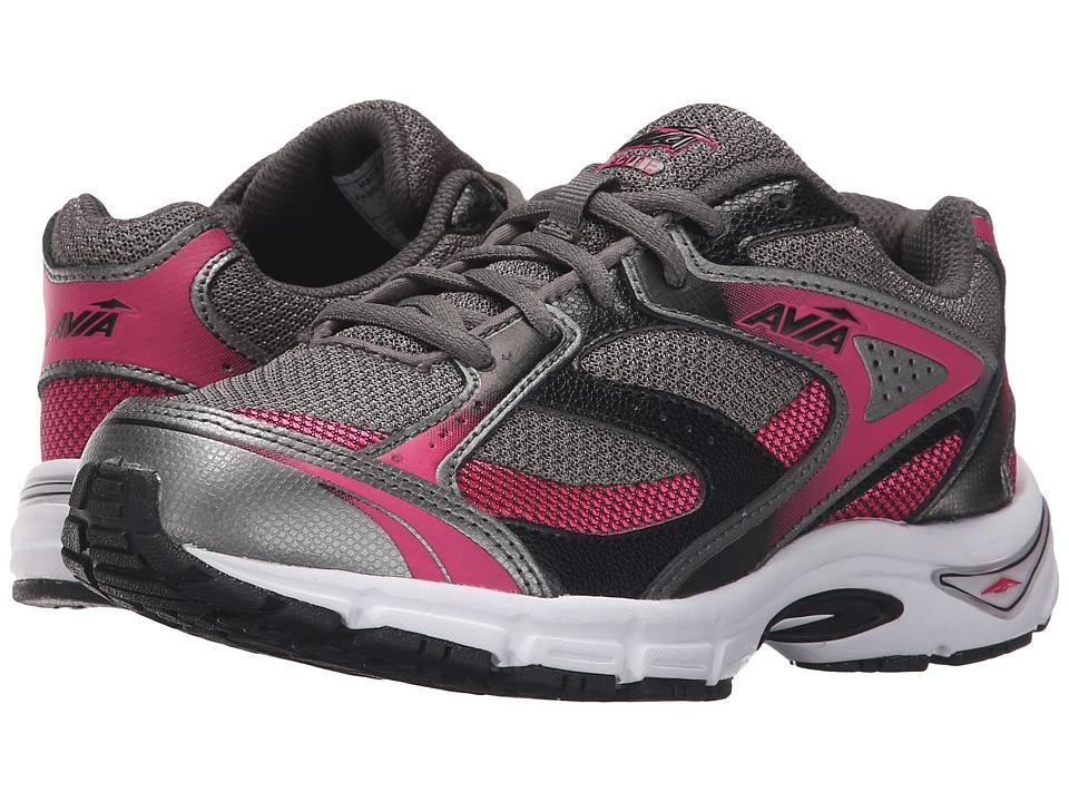 Image of Avia - Avi-Execute (Black/Dark Pink/Dark Grey) Women's Shoes