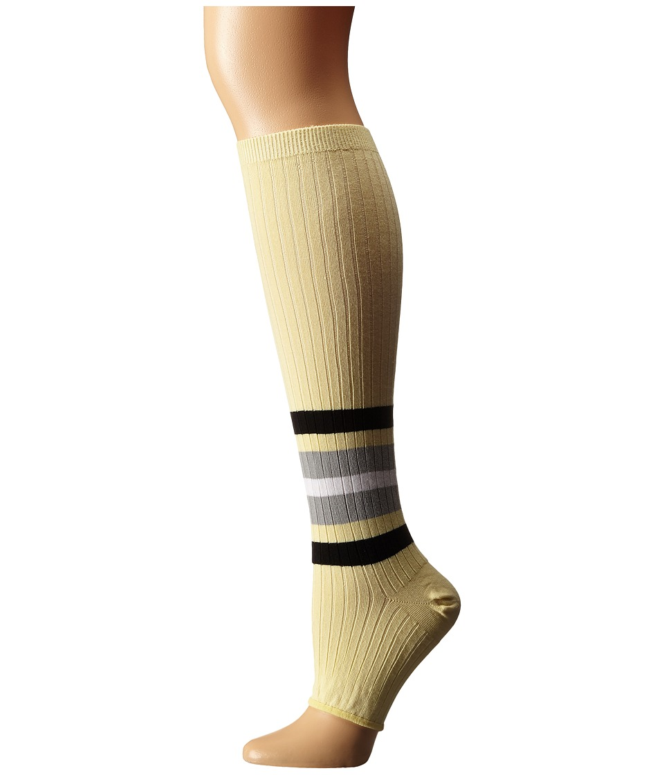 Stance - Tip Toe Baby (Yellow) Women's Crew Cut Socks Shoes
