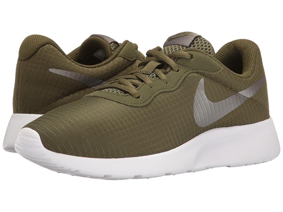 Nike - Tanjun SE (Legion Green/White/Metallic Pewter) Women's Running Shoes