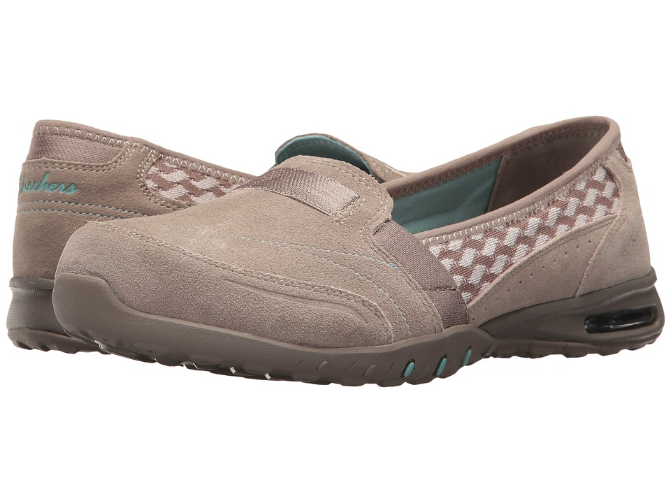 SKECHERS - Easy Air - Ember (Taupe) Women's Slip on Shoes