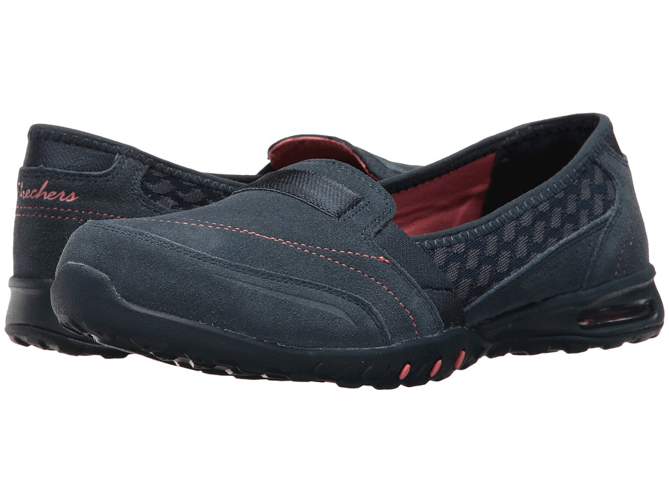 SKECHERS - Easy Air - Ember (Navy) Women's Slip on Shoes
