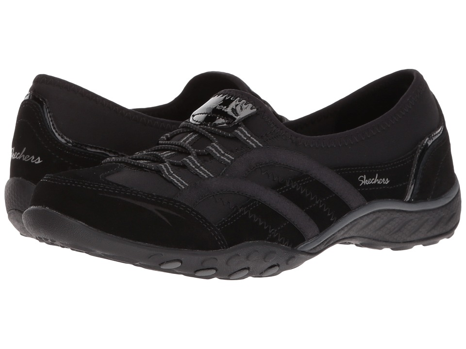 SKECHERS - Breathe Easy - Mantra (Black) Women's Shoes