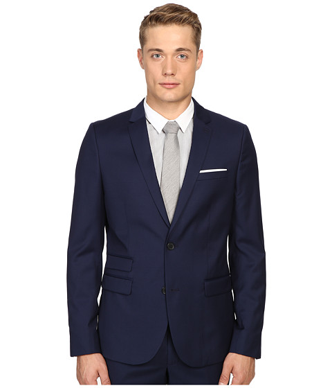 The Kooples Fitted Suit Jacket w/ Pocket Square at 6pm