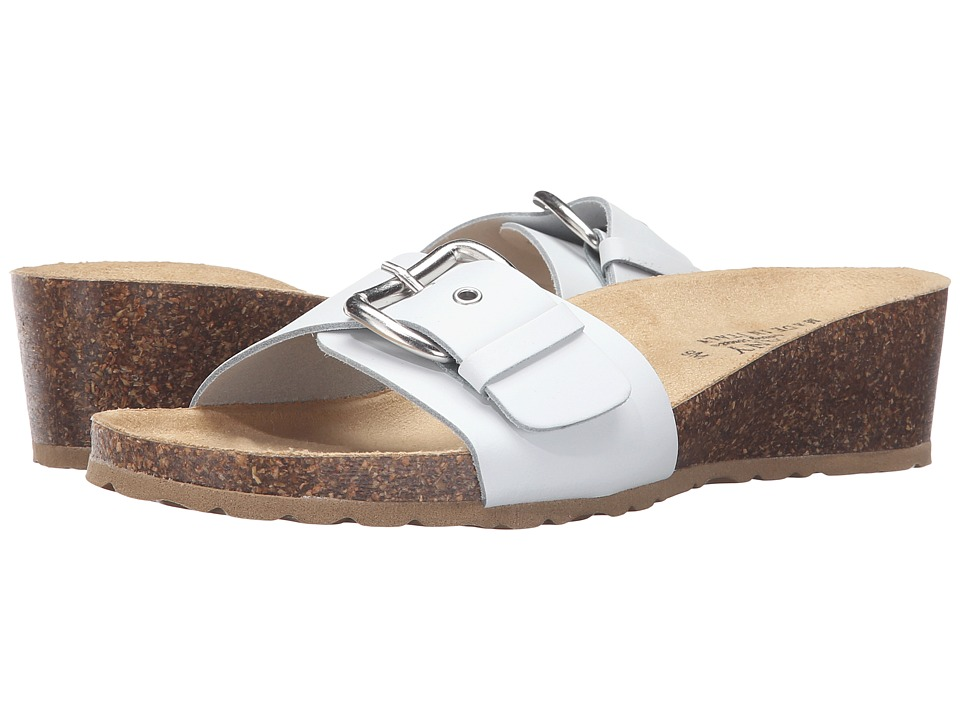 Easy Street - Amico (White Leather) Women's Shoes