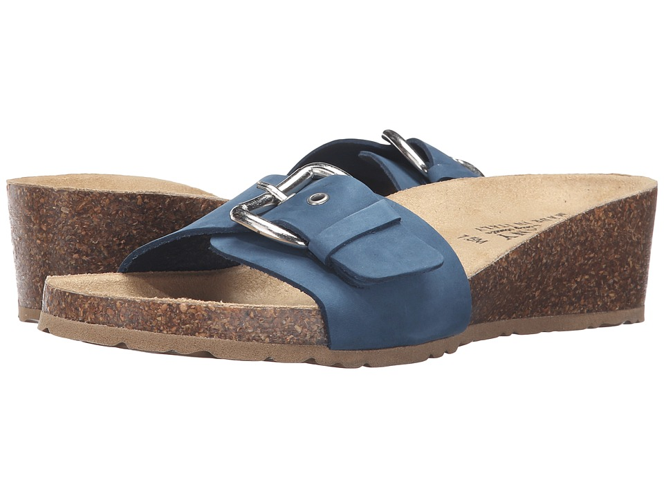Easy Street - Amico (Blue Nubuck) Women's Shoes