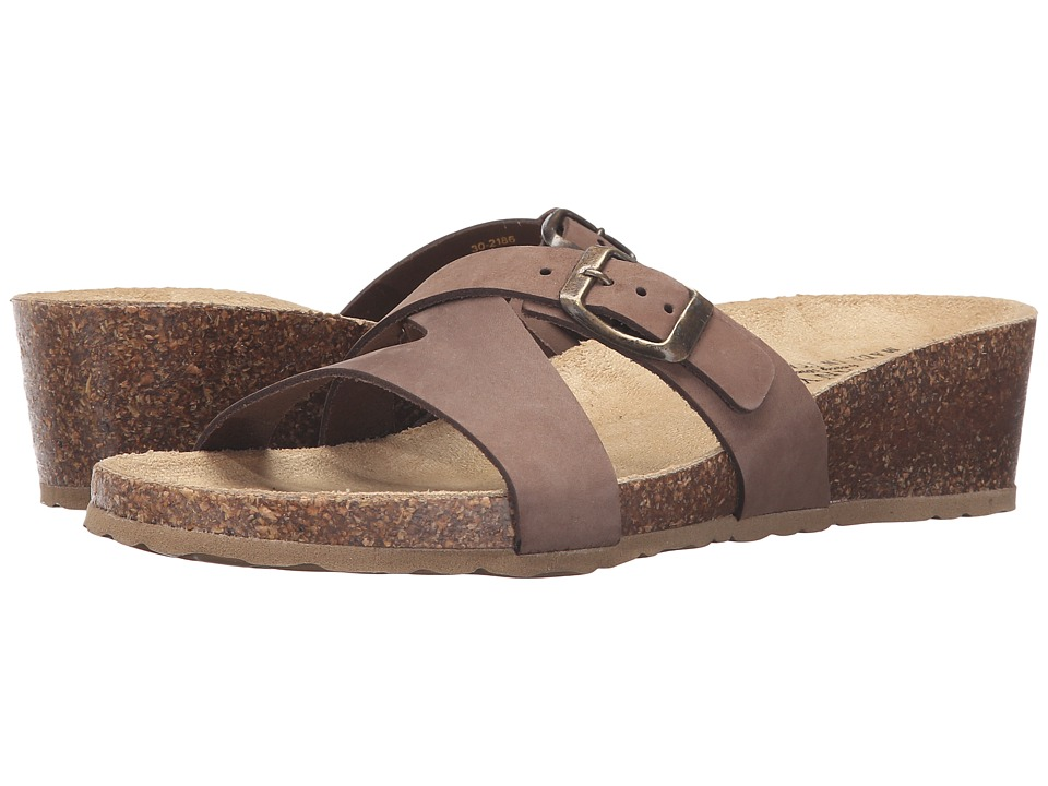 Easy Street - Sandalo (Brown Nubuck) Women's Shoes
