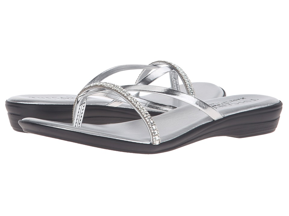 Easy Street - Auletta (Silver) Women's Shoes