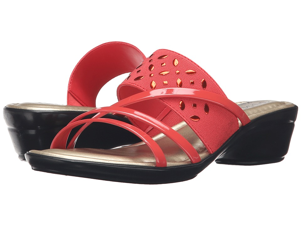 Easy Street - Atessa (Coral) Women's Shoes