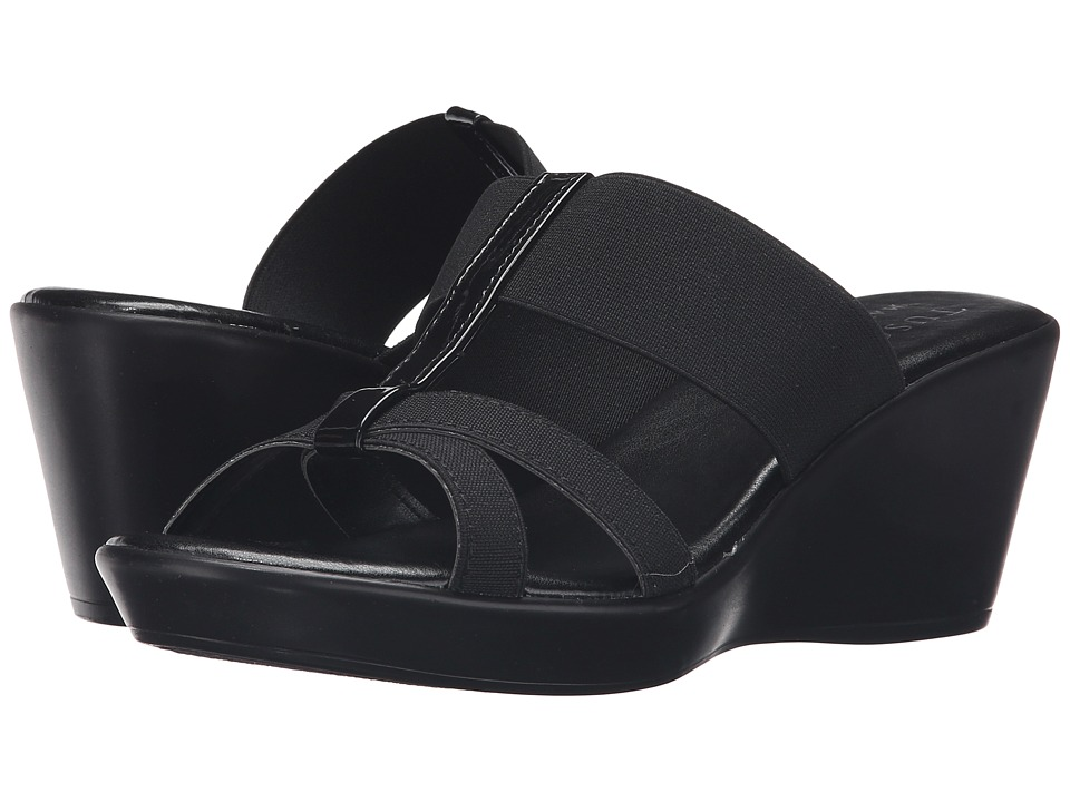 Easy Street - Ascea (Black Patent) Women's Shoes