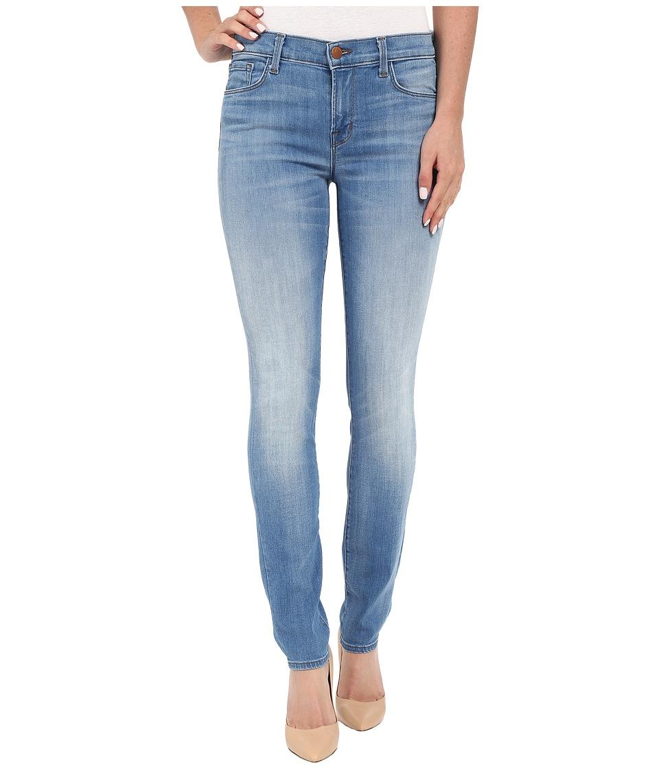 J Brand - Mid-Rise Skinny Jeans in Vestige (Vestige) Women's Jeans