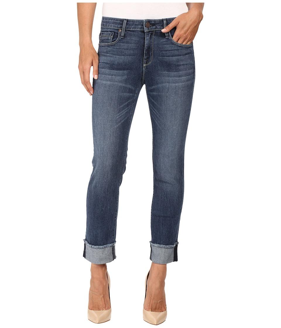 Parker Smith - Cuffed Straight in Petrol Blue (Petrol Blue) Women's Jeans