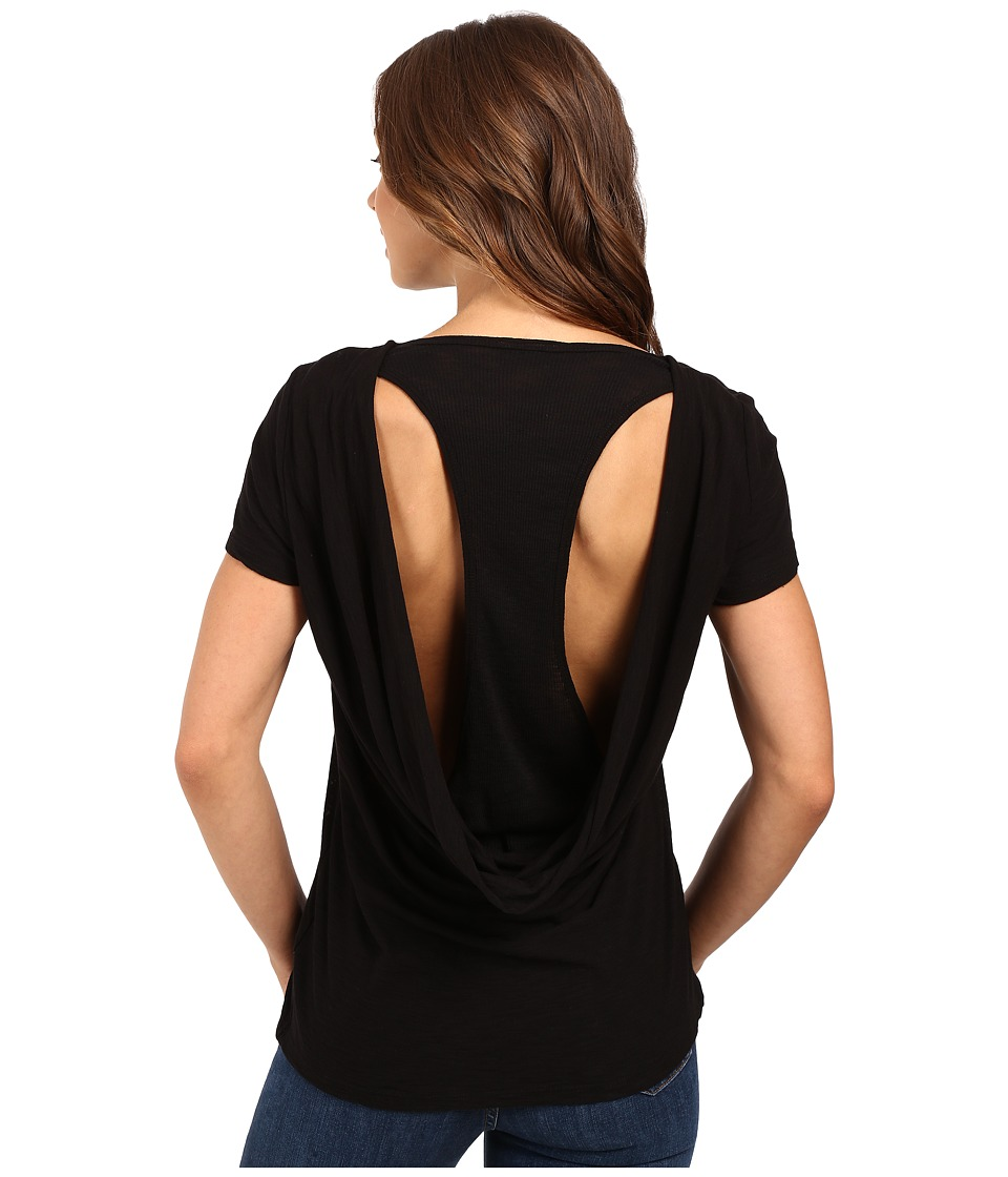 Culture Phit Thao Cowl Jersey Tee (Black) Women
