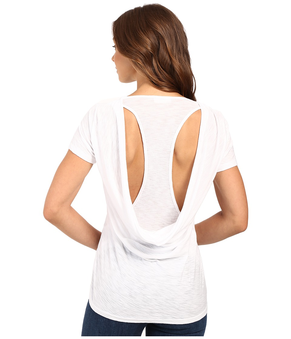 Culture Phit Thao Cowl Jersey Tee (White) Women