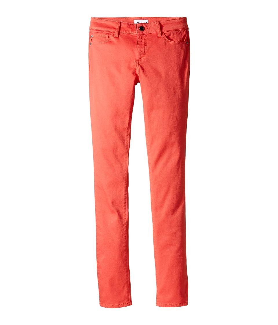 DL1961 Kids - Chloe Skinny Jeans in Licorice (Big Kids) (Licorice) Girl's Jeans