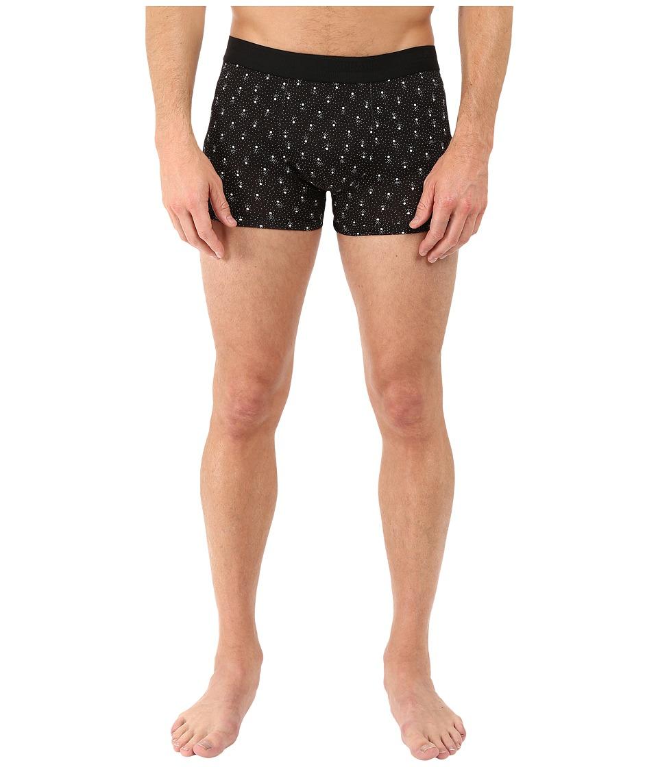 Dolce & Gabbana - Abstract Polka Dots Prints Regular Boxer (Black) Men's Underwear