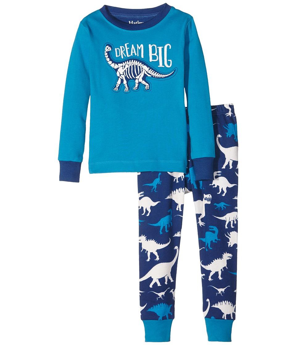 Hatley Kids - Dream Big Pajama Set (Toddler/Little Kids/Big Kids) (Blue) Boy's Pajama Sets
