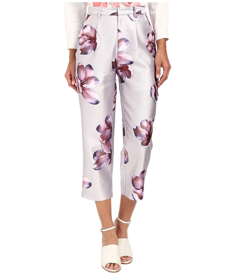 LOVE Binetti - Zz Top Pants (Grey/Pink) Women's Casual Pants