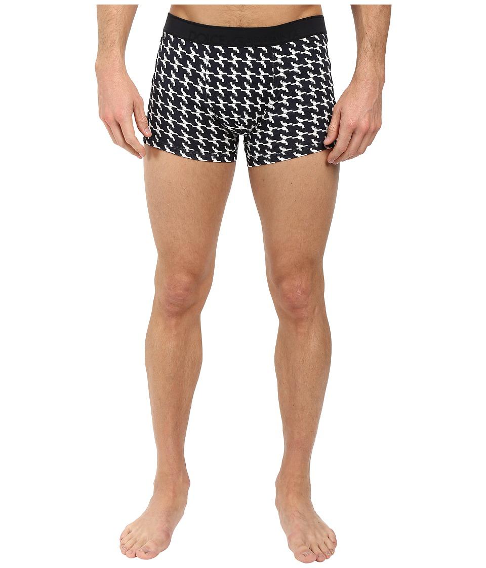 Dolce & Gabbana - Guns Prints Regular Boxer (Black) Men's Underwear