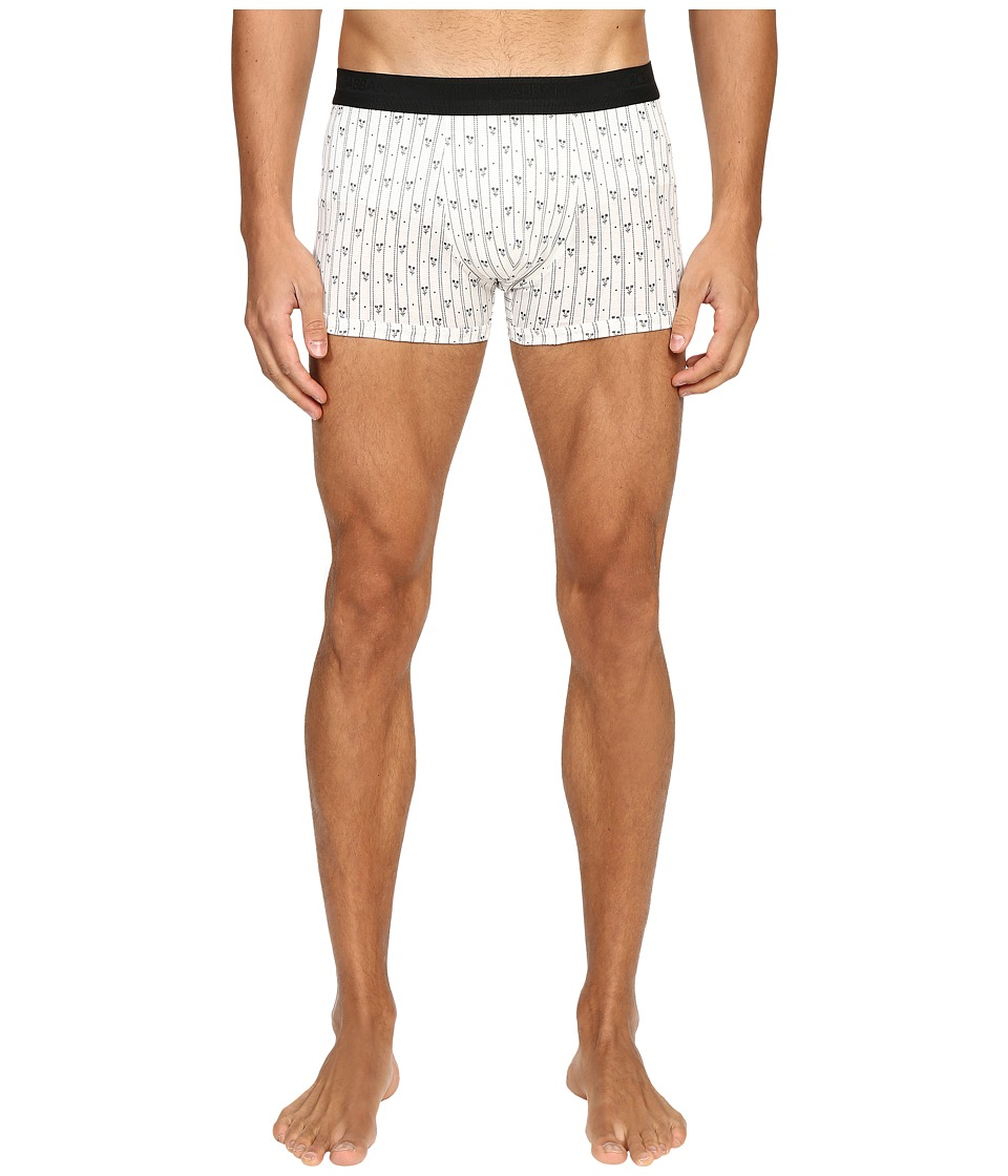 Dolce & Gabbana - Stripes and Little Flowers Print Regular Boxer (Stripes/Flowers) Men's Underwear