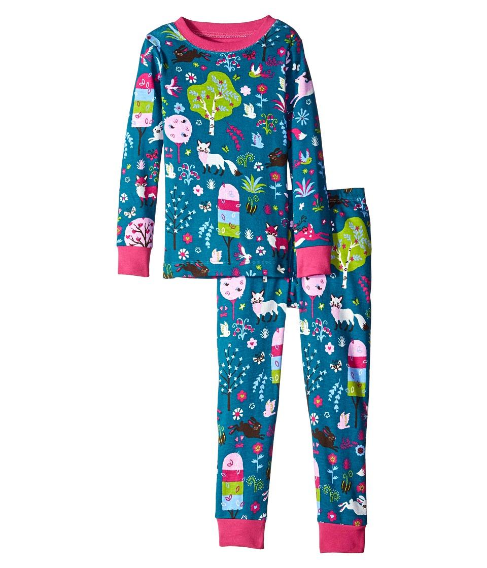 Hatley Kids - Mystical Forest Pajama Set (Toddler/Little Kids/Big Kids) (Green) Girl's Pajama Sets