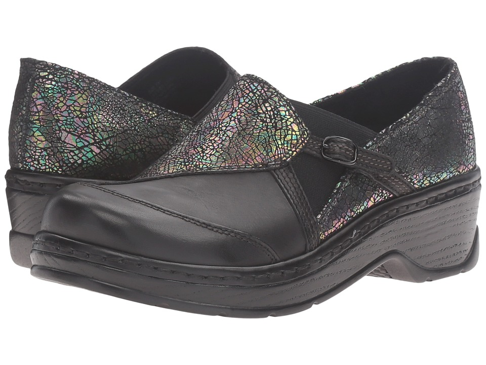 Klogs Footwear - Camden (Shattered/Black Smooth) Women's Clog Shoes