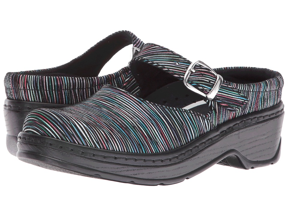 Klogs Footwear - Cali (Black Stripe) Women's Clog Shoes