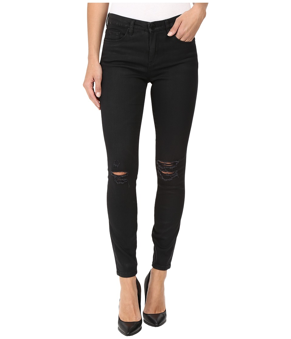 Blank NYC - Black Coated Skinny in All Lacquered Up (All Lacquered Up) Women's Jeans