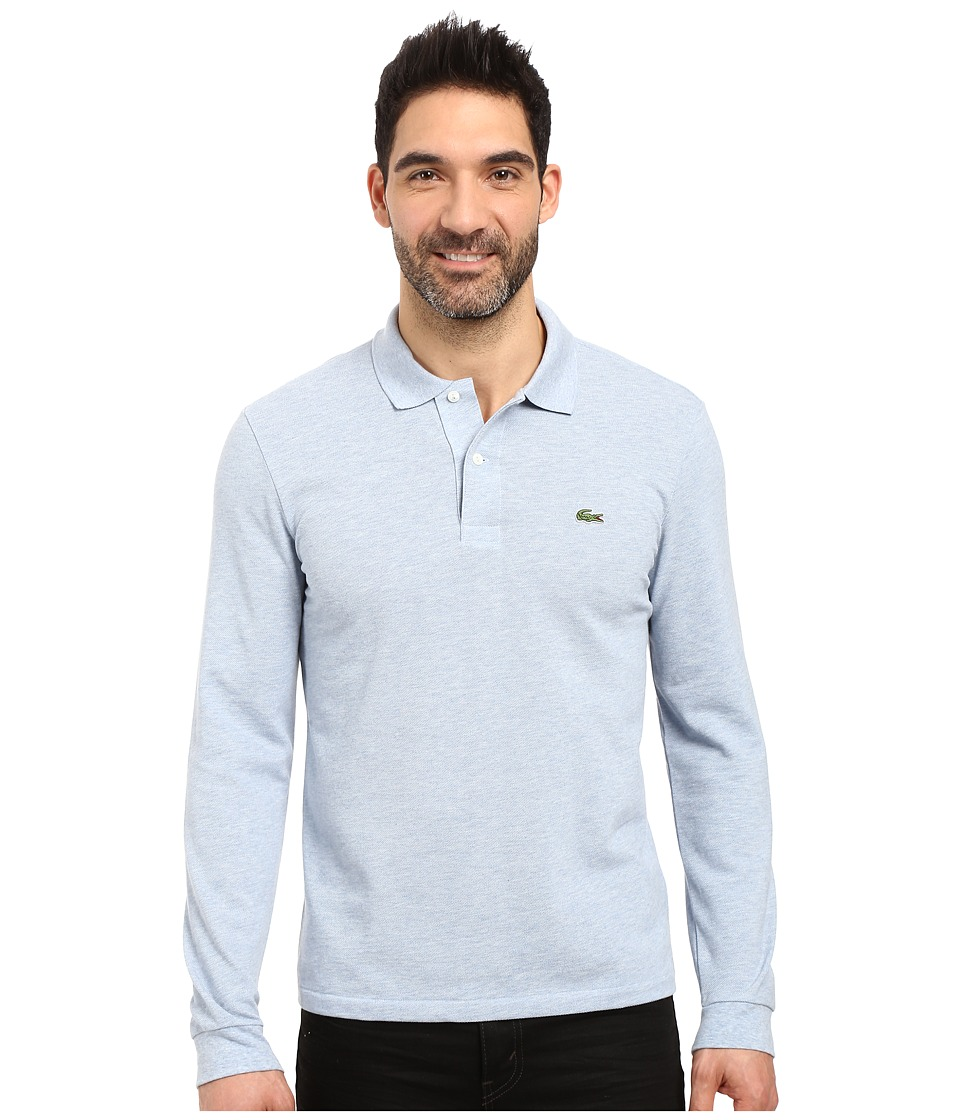 Lacoste - Long Sleeve Classic Chine Pique Polo (Celestial Chine) Men's Long Sleeve Pullover