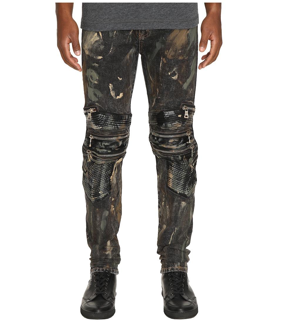 God's Masterful Children - Salomon Biker Jeans (Grey) Men's Jeans