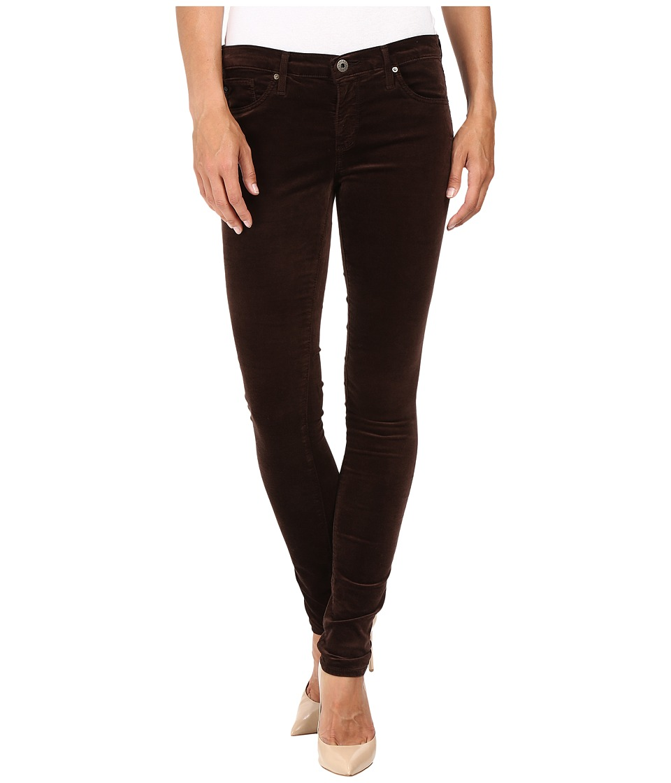 AG Adriano Goldschmied - Leggings in Bordeaux Brown (Bordeaux Brown) Women's Jeans