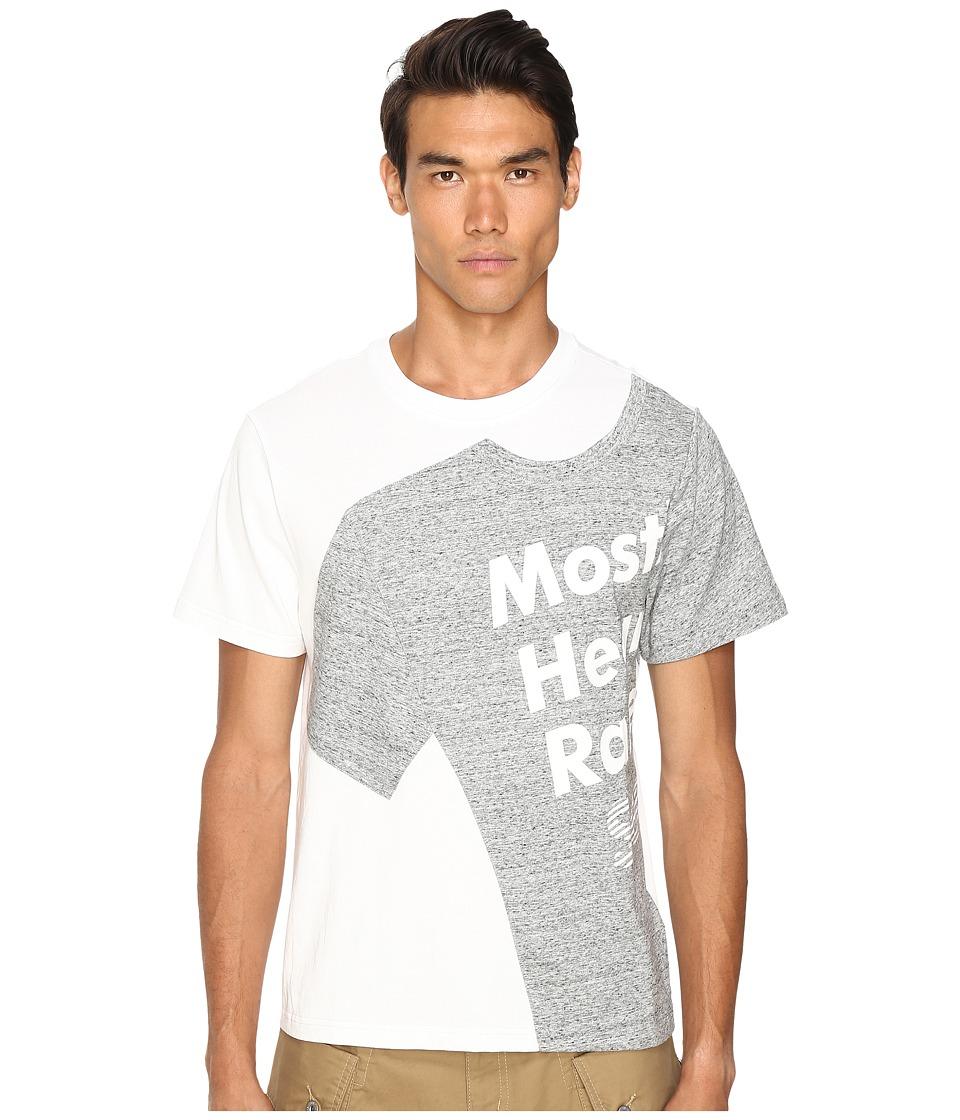 Mostly Heard Rarely Seen - Illusion T-Shirt (White) Men's T Shirt