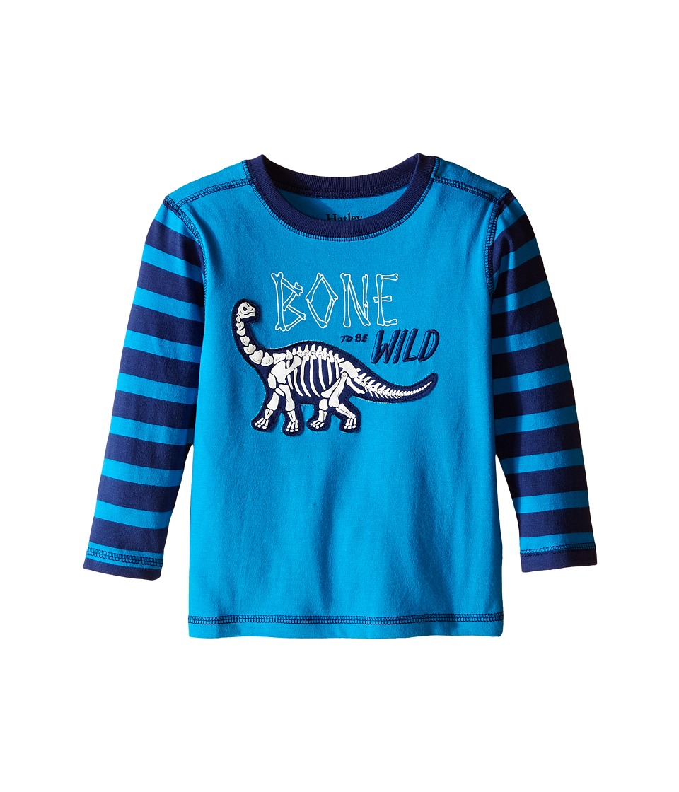 Hatley Kids - Team Dinomite Tee (Toddler/Little Kids/Big Kids) (Blue) Boy's T Shirt