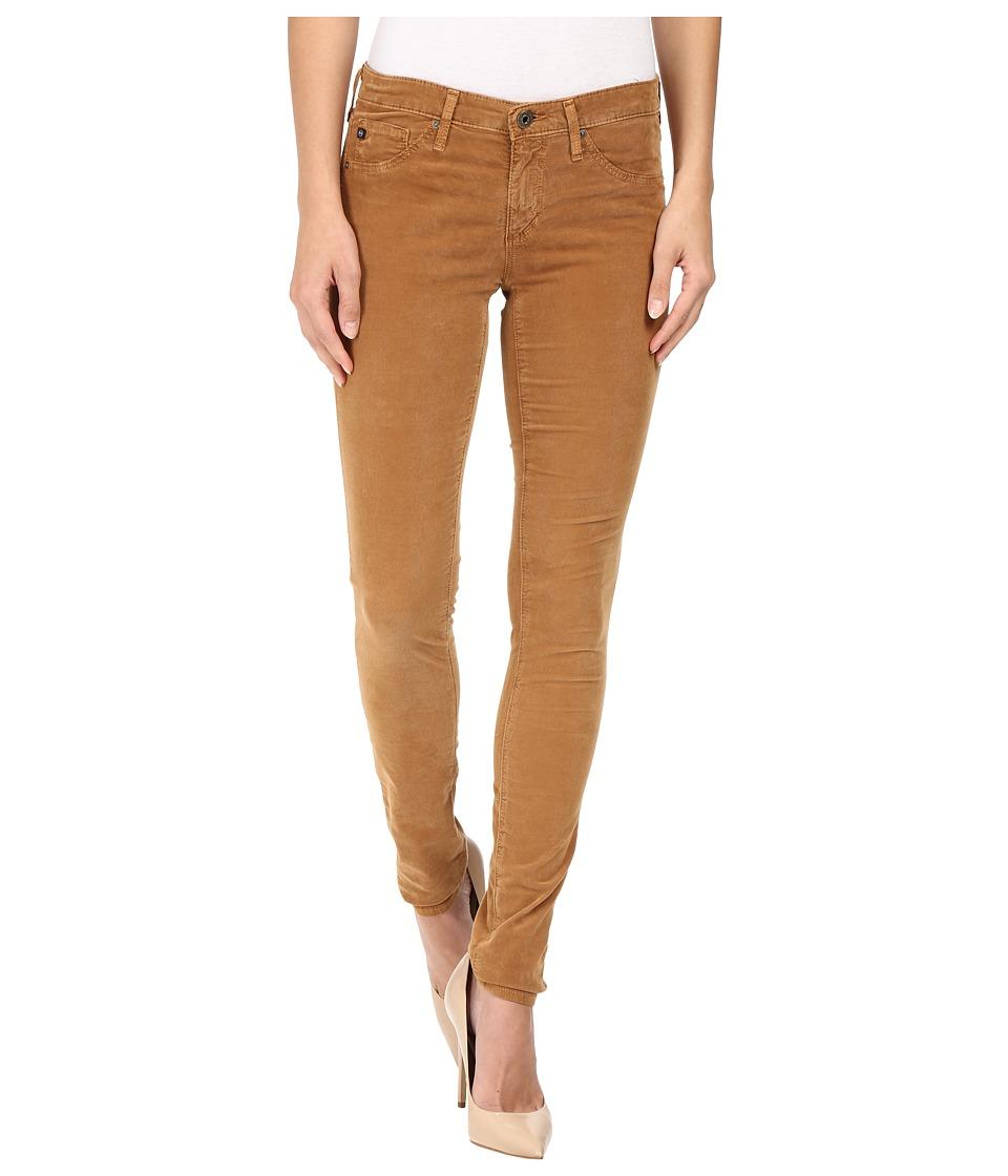 AG Adriano Goldschmied - Leggings in Sulfur Toffee Brown (Sulfur Toffee Brown) Women's Jeans