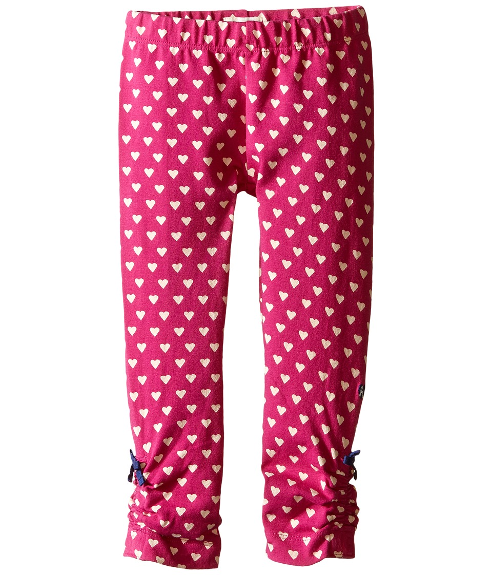 Hatley Kids - Heart Leggings (Toddler/Little Kids/Big Kids) (Pink) Girl's Casual Pants