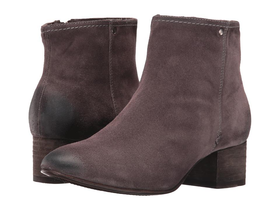 Trask - Vivian (Grey Italian Suede) Women's Boots
