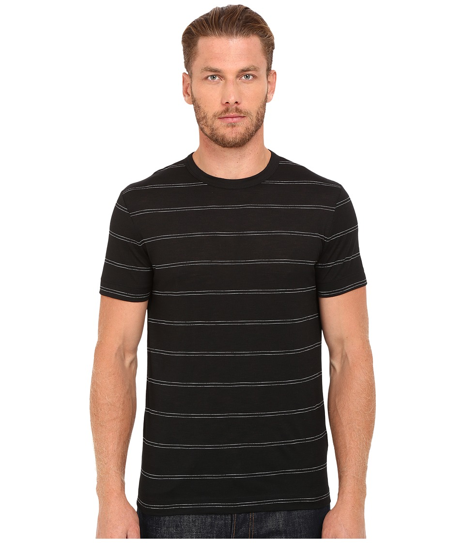 Theory - Gaskell N.Anemone DB (Black Multi) Men's T Shirt