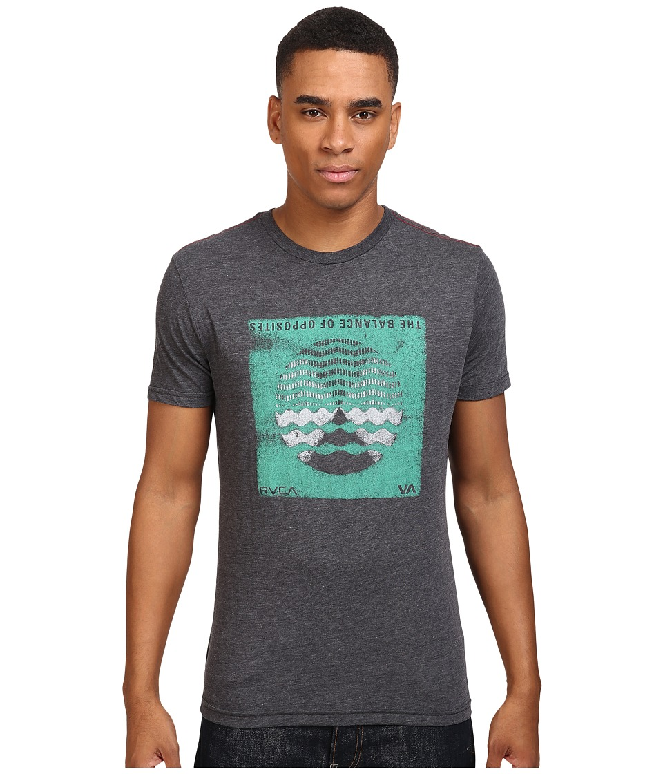 RVCA - Radio Waves Tee (Black) Men's T Shirt