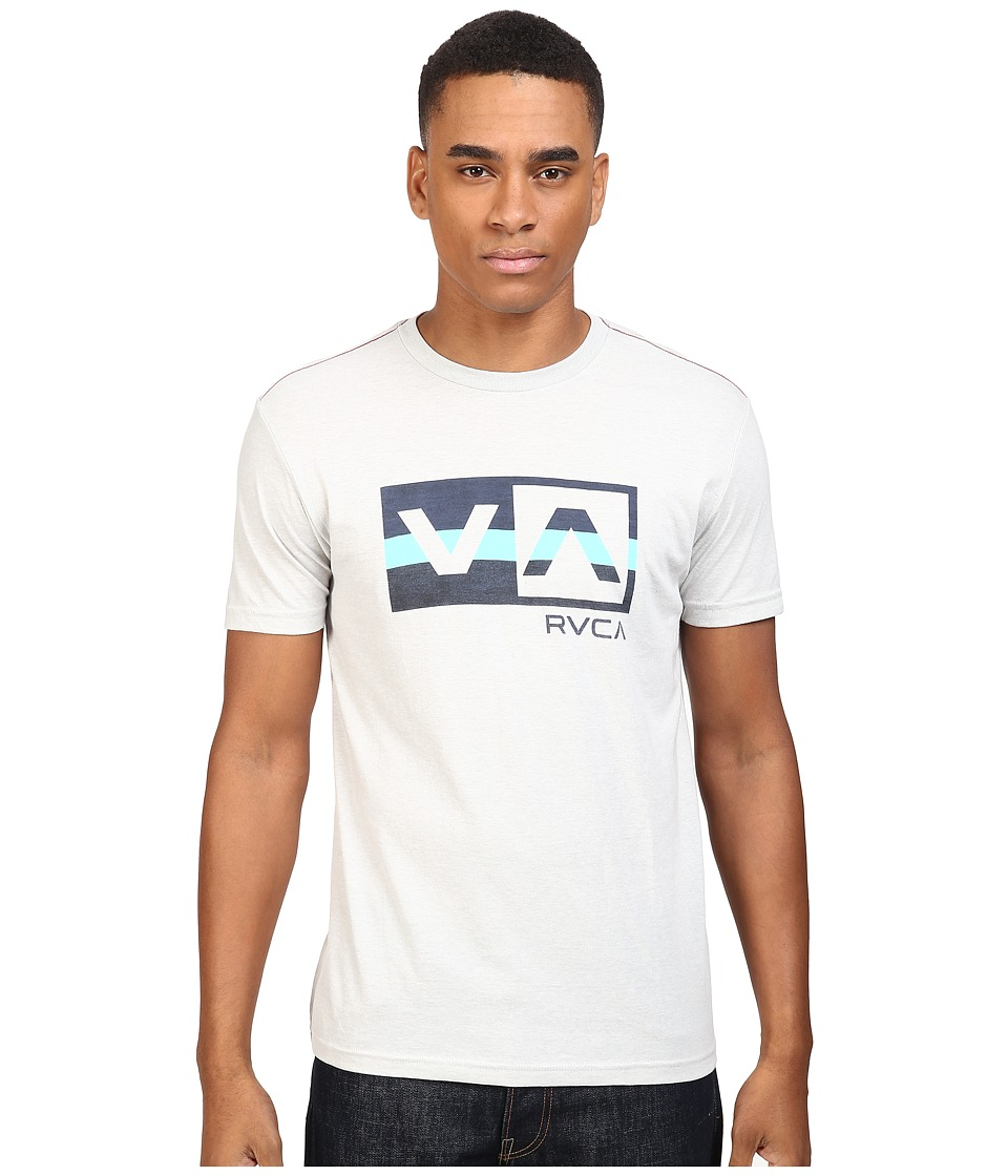 RVCA - Session Balance Box Tee (Cool Grey) Men's T Shirt