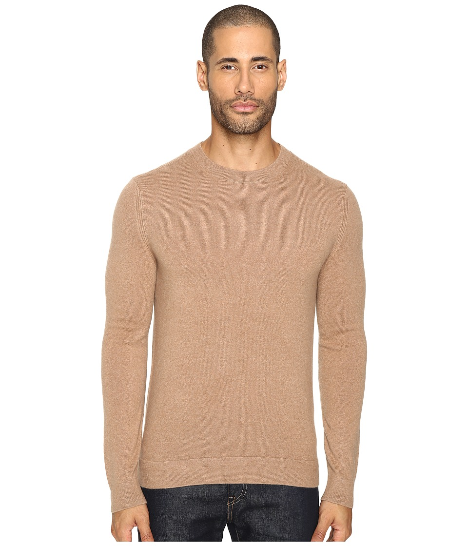 Theory - Donners C.Cashmere 2 (Rich Camel) Men's Sweater