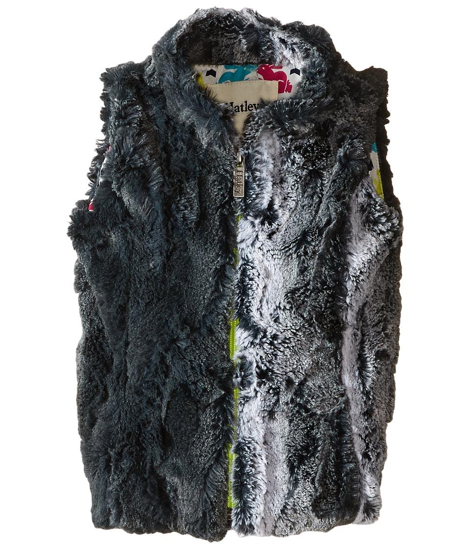 Hatley Kids - Ski Bunny Faux Fur Vest (Toddler/Little Kids/Big Kids) (Grey) Girl's Vest