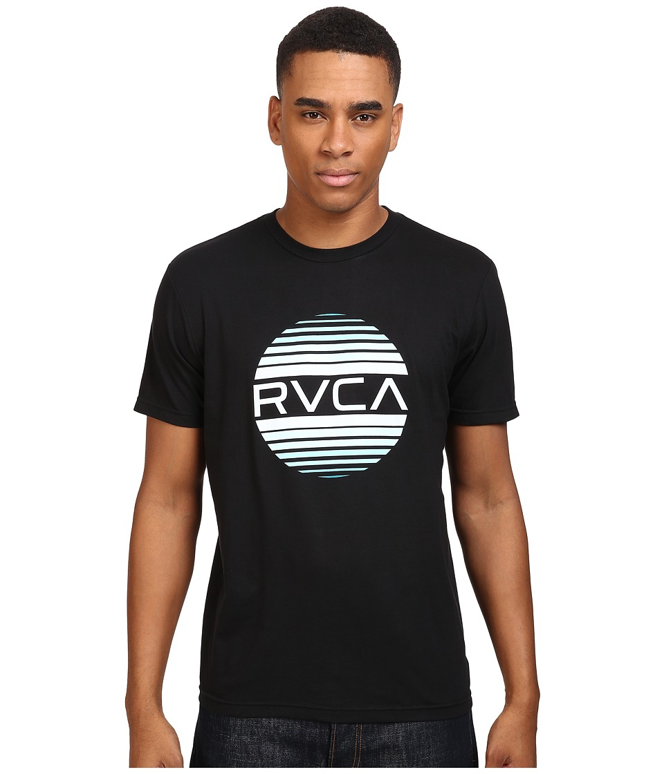 RVCA - Sanborn Gradient Tee (Black) Men's T Shirt