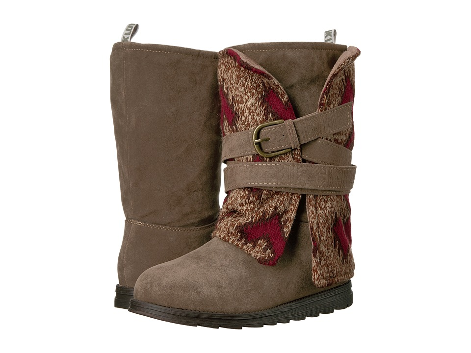 MUK LUKS - Nevia Boot (Brown) Women's Boots