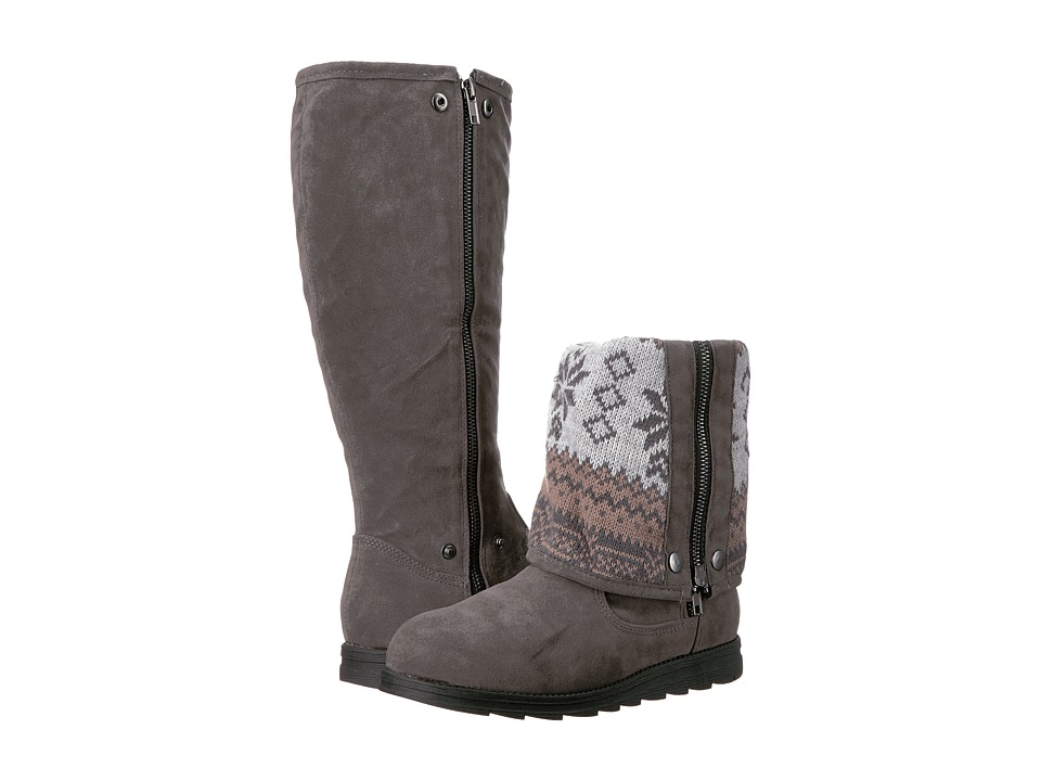MUK LUKS - Jayla Boot (Gray) Women's Boots