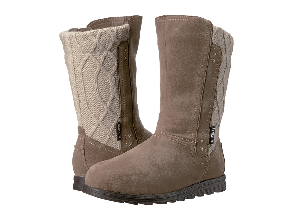 MUK LUKS - Lilah Boot (Tan) Women's Boots