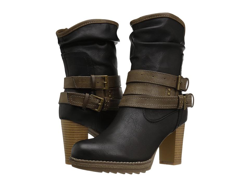 MUK LUKS - Skylynn Boot (Black) Women's Boots
