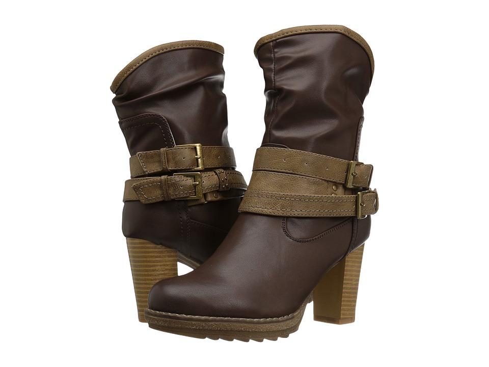 MUK LUKS - Skylynn Boot (Tan) Women's Boots
