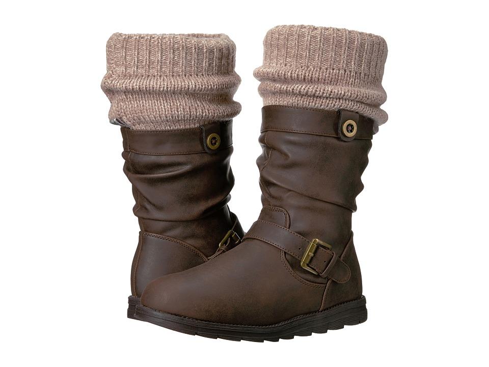 MUK LUKS - Dalis Boot (Brown/Oatmeal) Women's Boots
