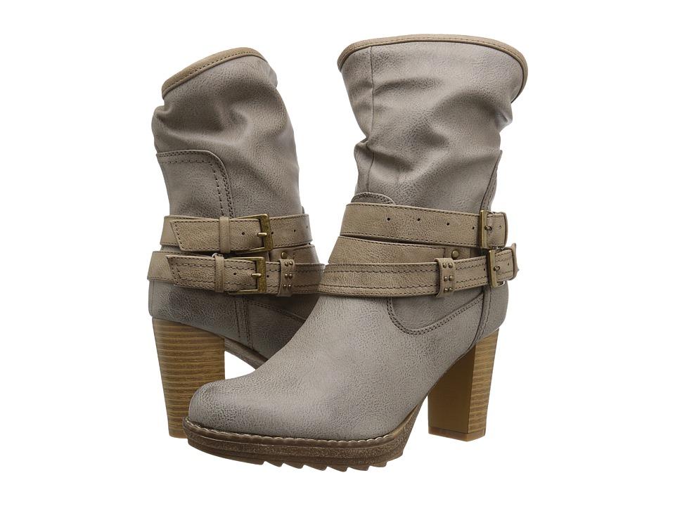 MUK LUKS - Skylynn Boot (Gray) Women's Boots
