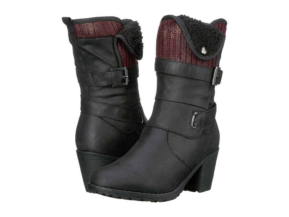 MUK LUKS - Belle Boot (Black) Women's Boots