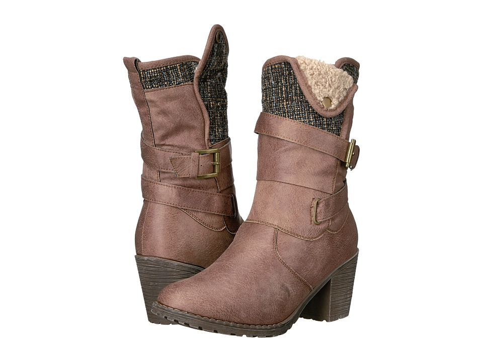 MUK LUKS - Belle Boot (Tan) Women's Boots